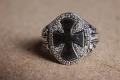HD Custom jewelery anello croce di malta01