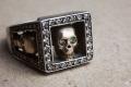 HD Custom jewelery anello Trilogy teschi06