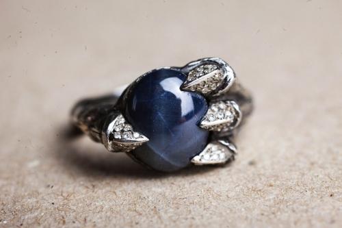 HD Custom jewelery anello drago stellato04