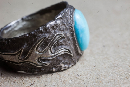 HD Custom jewelery anello fiamma03