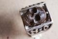 HD Custom jewelery anello teschio in meteorite09