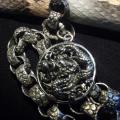 HD Custom Jewelry NEWS- portafoglio in pitone con catena in argento - 04